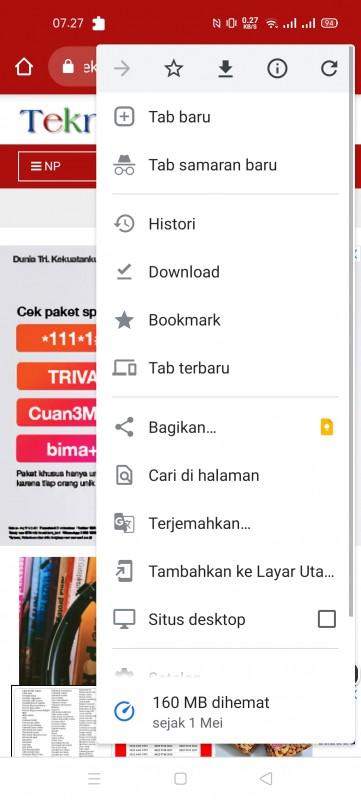 Browser Google Chrome Akan Memperbarui Yang Dapat Menerima Alat Baru Untuk Penangkap Layar Baru di Android-Teknopedia.nusapos.c