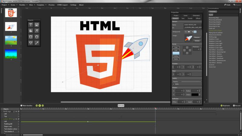 Tutorial Cara Membuat Animasi Gif Melewati WebAnimator Go Secara Gratis Dalam Hitungan Detik
