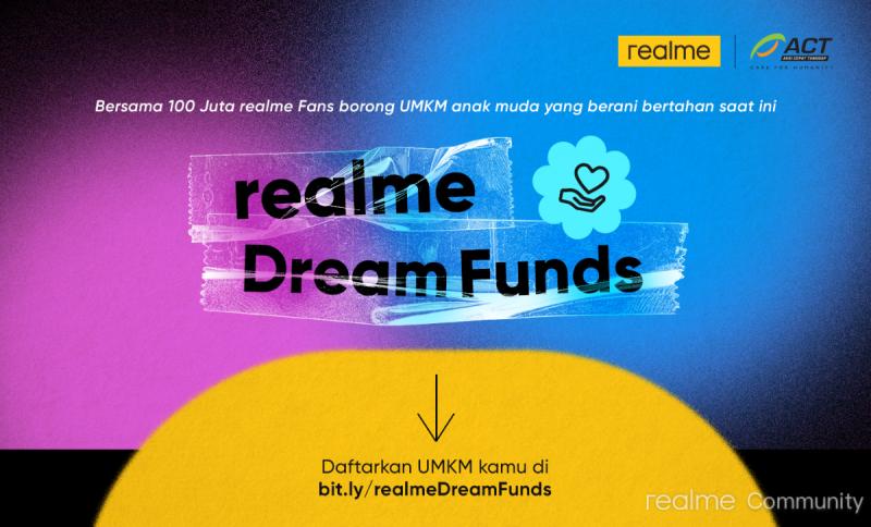 Berbangga Merayakan 100 juta Global Realme Akan Membuka Peluang Untuk UMKM Indonesia Dalam Realme Dream Funds! Teknopedia.nusapos.com