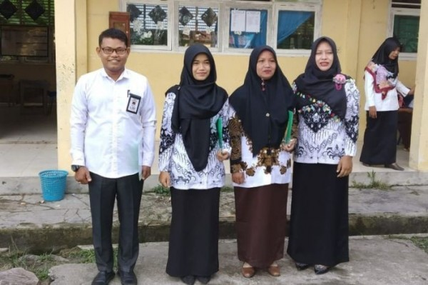 Bantuan Madrasah di Bengkalis Naik, Agus Salim Sampaikan