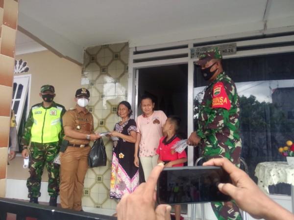 Kalurahan Kamboja Bagikan 1500 Masker Untuk Masyarakat