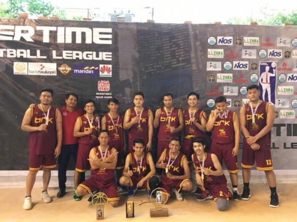 Tim Basket BRK Raih Prestasi di Ajang OBL