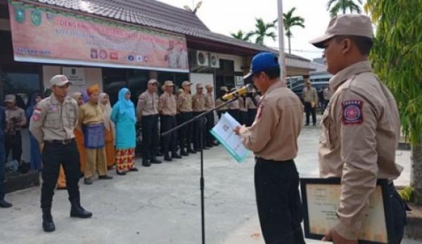 HUT Ke-14 Tagana, Kadinsos Inhil Harapkan Relawan Tagana Selalu Responsif