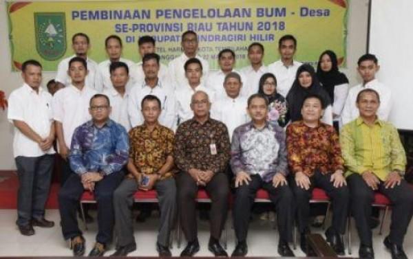 Pjs Bupati Rudyanto Hadiri Pembukaan Pelatihan Pengelola BUM-Des se Riau