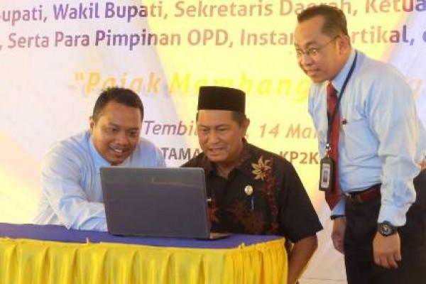 Wakil Bupati Inhil Hadiri Pekan Panutan Penyampaian SPT Tahunan PPh Pribadi Melalui E-Filling