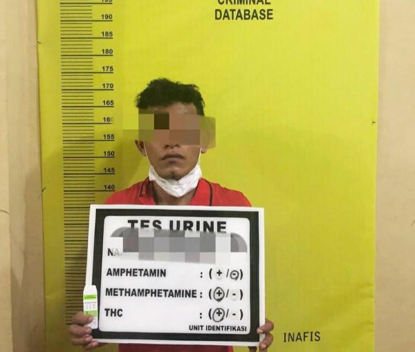 Polres Rohul Kembali Mengamankan Satu Orang Pelaku Tindak Pidana Narkotika Jenis Shabu