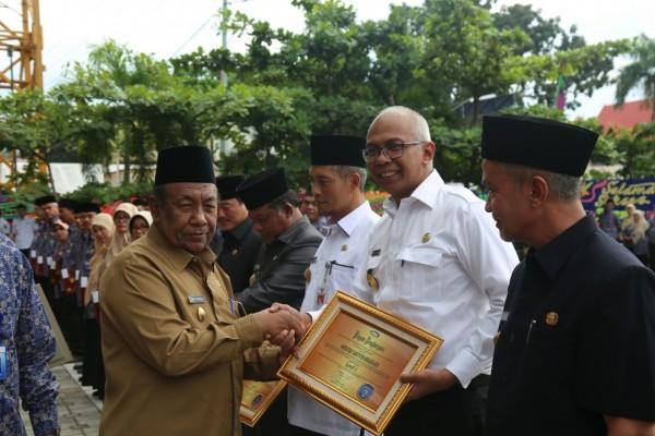 Pjs Bupati Inhil Hadiri Ulang Tahun BPKP