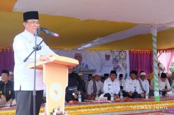 Haul Akbar Syekh Abdul Qadir Al-Jailani, Bupati Inhil Kenang Masa 1 Tahun Silam