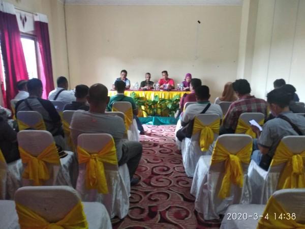 Demi Kesejahteraan, Persatuan Wartawan Kabupaten Rohul Dirikan Koperasi