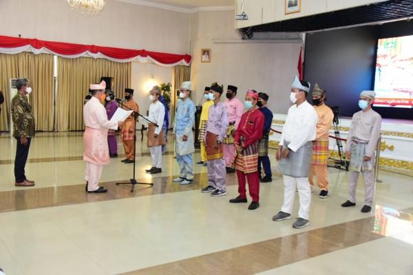 Syahrial Abdi Lantik IPMKB Periode 2019-2021