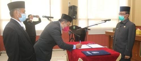 2 Pejabat Eselon IV Dilantik Sekdakab Siak