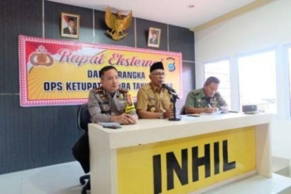 Pjs Bupati Inhil Pimpin Rapat Persiapan Penyambutan Kedatangan Kapolda Riau di Inhil