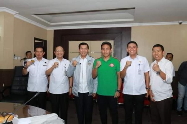 Walikota Pekanbaru Dukung Dan Imbau Masyarakat Ramaikan Stadion
