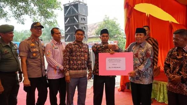 Bupati H Sukiman Kunjungi Desa Kasang Padang  Dan Serap  Aspirasi Dari Masyarakat