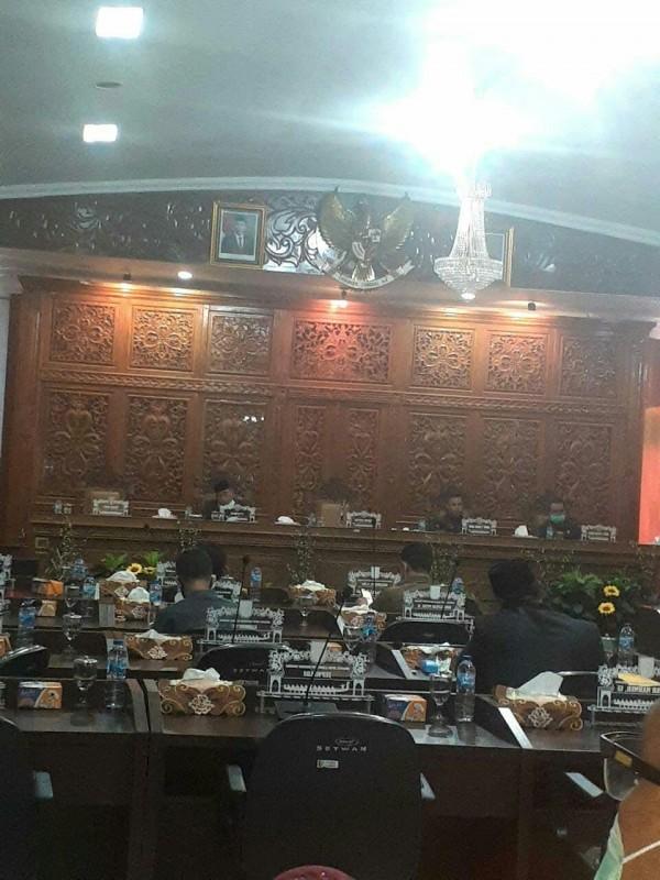 DPRD Kabupaten Kuantan Singingi Gelar Sidang Paripurna Pertanggungjawaban Pelaksanaan APBD 2019
