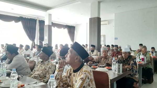 Ketua DPRD Kuansing Bersilaturrahmi Bersama Para Ulama Dan Pemuka Masyarakat Kuansing