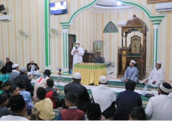 Pengurus Masjid Al-Muhajirin Desa Pematang Berangan Peringati Maulid Nabi Besar Muhammad SAW