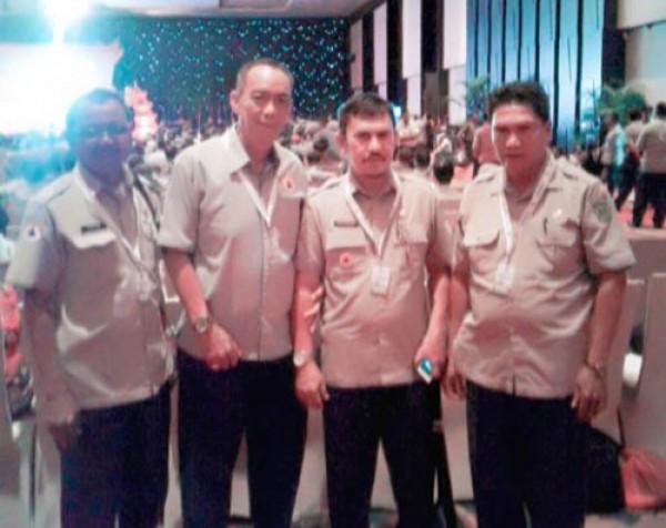 BPBD Inhil Ikuti Rakernas BNPB di Bali