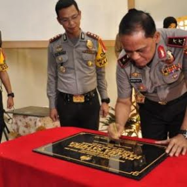 Kapolda Riau Resmikan Gedung SPKT-Mall Parama Satwika Polres Pelalawan