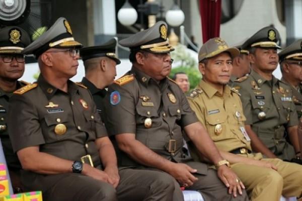 HUT ke-68 Satpol PP dan ke-56 Satlinmas, Pj Bupati Inhil Minta Personel Jaga Netralitas dalam Pilkada