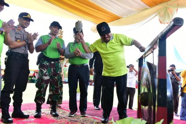 Bupati Bengkalis Buka BBGRM Ke-16 Tingkat Provinsi Riau