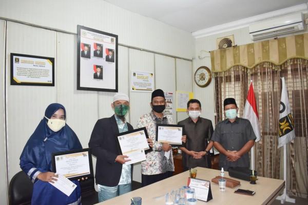 Reni Juniarti Sabet Juara I Lomba Menulis Puisi Se-kabupaten Rokan Hulu