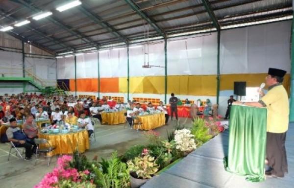 Bupati Inhil Berterima Kasih pada PT THIP Atas Dukungan Pelaksanaan Pembangunan