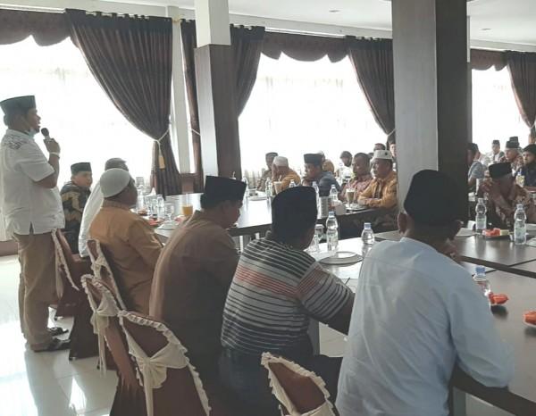 Ketua DPRD Kuansing Andi Putra Hadiri Halal Bihalal dengan Para Ulama Kuansing