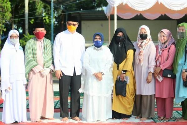 Plt Walikota Tanjungpinang Meresmikan Kios Pemberdayaan Ekonomi Jamaah Masjid Miftahul Falah