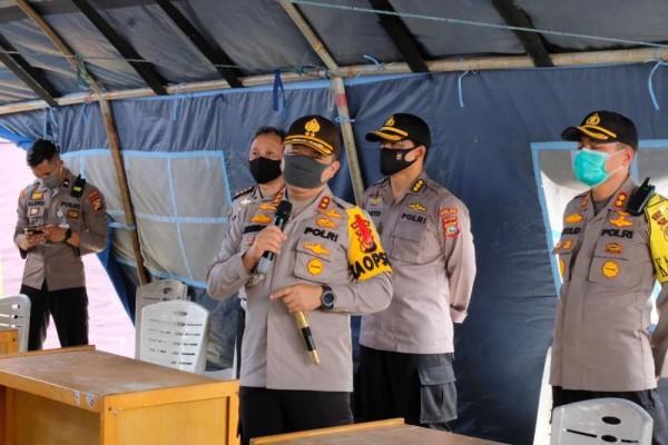 Pelaksanaan Larangan Mudik oleh Polda Riau
