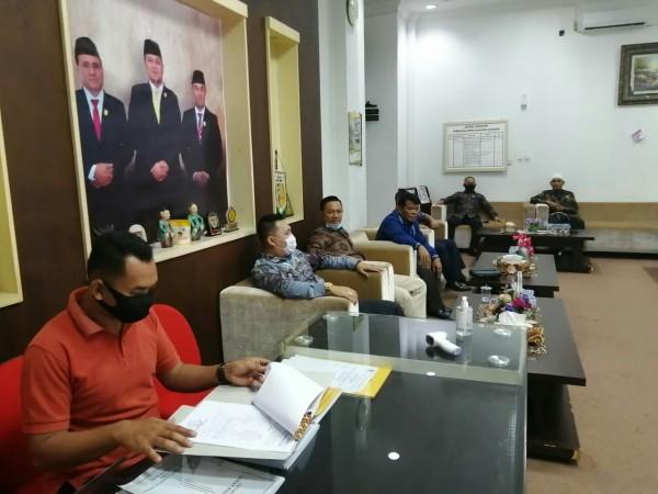 Setwan Kuansing Terima Kunjungan Kerja DPRD Kota Sawahlunto