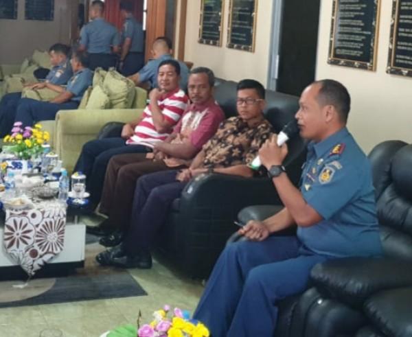 Coffe Morning Komandan Lanudal Tanjung Pinang Dengan Tokoh Masyarakat