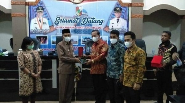 Pemkab Luwu Studi Tiru ke MPP Pekanbaru