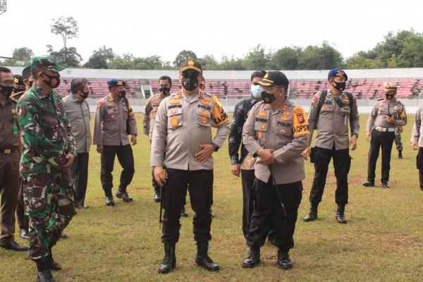 Persiapan Supervisi Pilkada, Kapolda Riau Kunjungi Kuansing Dan Inhu
