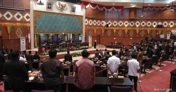 DPRD Riau Sahkan APBD Riau 2020 Sebesar Rp10,216 Triliun