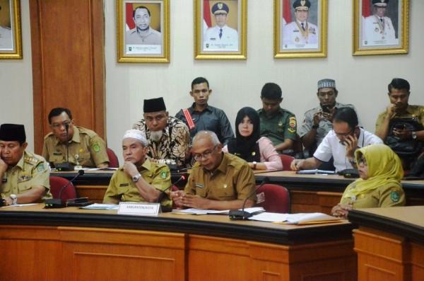 Pjs Bupati Inhil Hadiri Rapat Pemantapan Persiapan Pilkada Serentak Tahun 2018