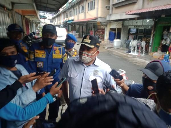 Kasatpol PP : Masih ada Warga yang belum menggunakan masker