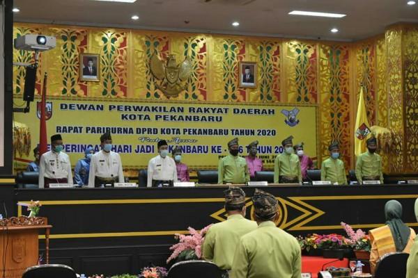 Diumur ke 236 Tahun, Ketua DPRD Pekanbaru  Sebut Pekanbaru Berkembang Pesat