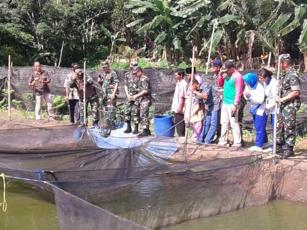 kegiatan Serbuan Teritorial serentak di Selenggarakan diseluruh Wilayah Komando Armada I