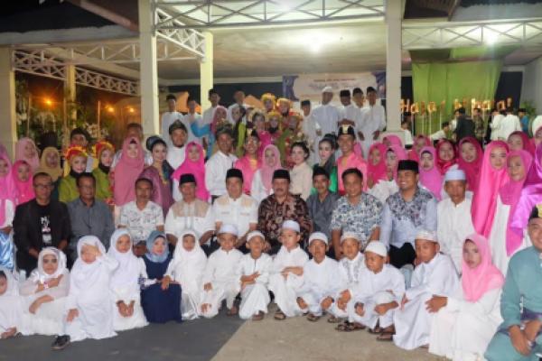 Sekda Inhil Hadiri Halal Bihalal di Teluk Pinang