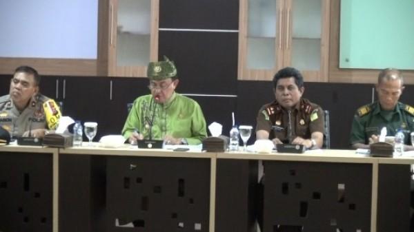 Rapat Evaluasi Forum Silahturrahmi Ulama dan Umara, Bupati Inhil Akomodir Masukan Para Ulama Serta Tokoh Masyarakat