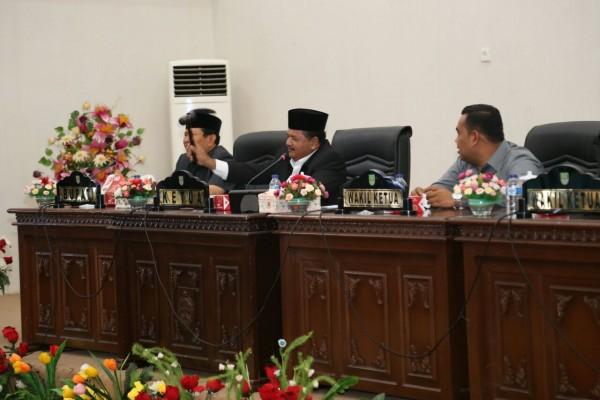 DPRD Kabupaten Rohul Sahkan Empat Ranperda