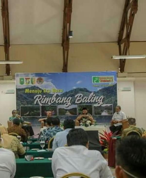 Webinar Dipimpin Langsung Gubernur Riau, SM Rimbang Baling Diusulkan Jadi Taman Nasional