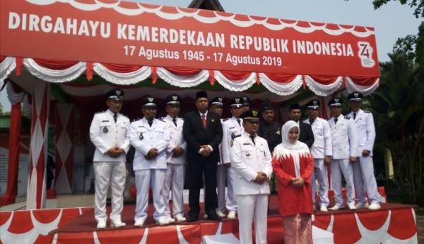 Upacara Hari Ulang Tahun Republik Indonesi Ke 74 Kecamatan Siak Kecil