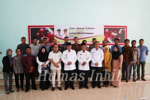 Bupati Wardan Temu Ramah Pra Tugas Fasilitator DMIJ Plus Terintegrasi