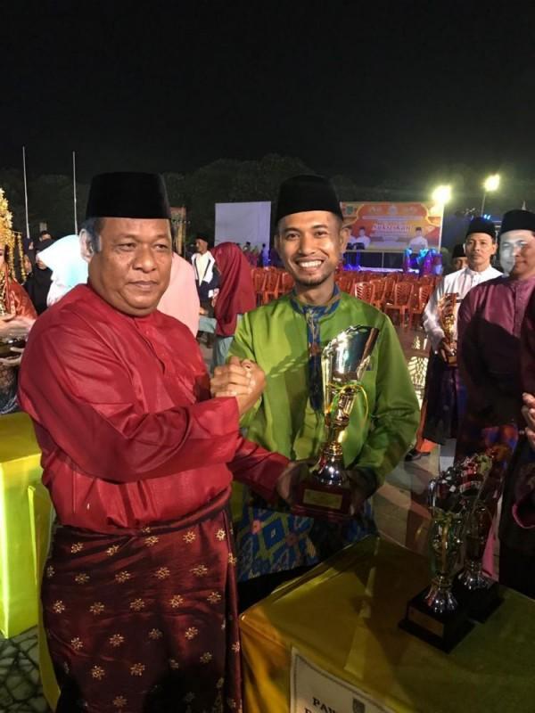 Kecamatan Tanah Putih Tanjung Melawan Juara I Pawai Ta'aruf MTQ Rohil