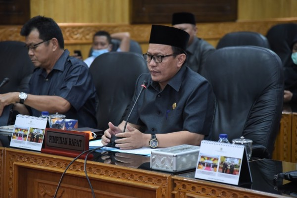 DPRD Bengkalis dan Pemkab Bengkalis lakukan Rakor Lintas Komisi Dalam Penanggulangan Covid-19