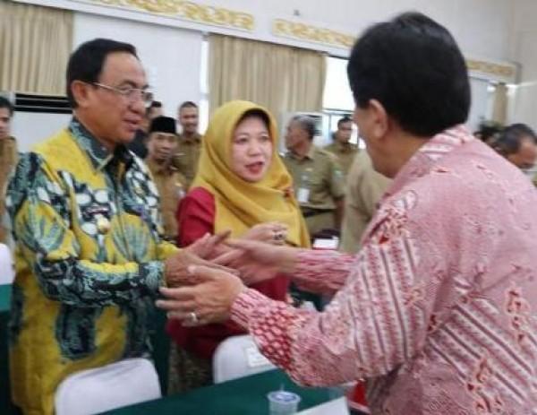 Inhil Pemuncak Penilaian Renaksi 2018, Bupati: Ini Peningkatan Prestasi