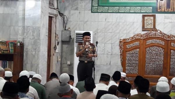 Pjs Bupati Inhil Rudiyanto Hadiri Safari Ramadhan Kapolda Riau Bersama Danrem 031/ Wirabima ke Tembilahan