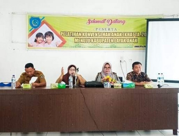 Pelatihan Konvensi Hak Anak Di Gelar Dinas PP & PA Labuhanbatu